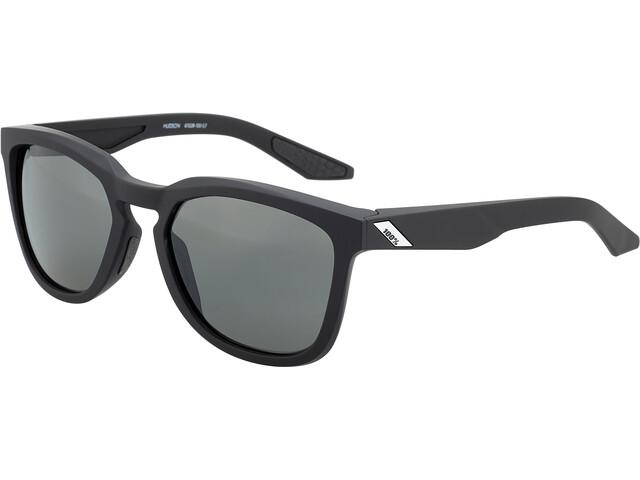 100% Hudson Okulary, soft tact black